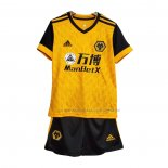 Maglia Wolves Home Bambino 2020 2021
