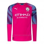 Maglia Manchester City Away Portiere Manica Lunga 2019 2020